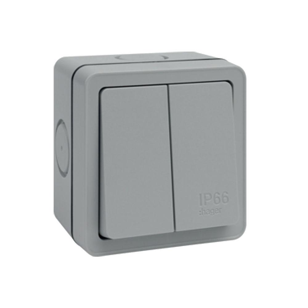Sollysta 10a 2 Gang 2 Way Ip66 Switch