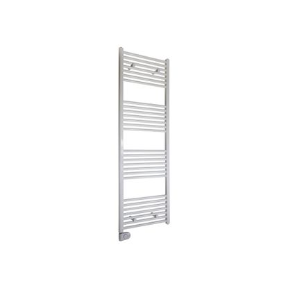 Picture of 600W White Heated Towel Rail with Thermostat