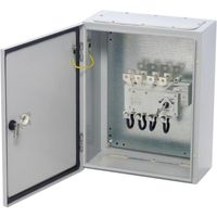 Show details for  IP65 1000A (AC-21) 3P + Sw. Neutral (4th Pole) Sheet Steel Enclosed Changeover Switch