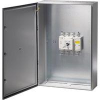 Show details for  IP65 400A (AC-21) 3P + Sw. Neutral (4th Pole) Sheet Steel Enclosed Load Break Switch