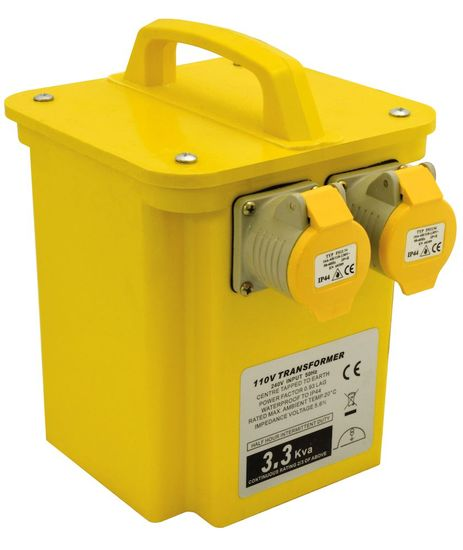 Picture of 5kVA Portable Tool Transformer (2 x 16A)