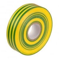Show details for  PVC Electrical Tape (19mm X 33Mtr) - (Green/Yellow)