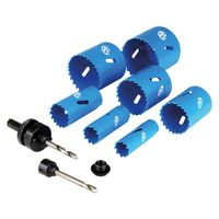 Show details for  Professional M42 Bi-Metal Holesaw Kit, 19mm to 57mm [10 Piece]