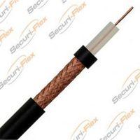 Show details for  RG59 Coaxial Cable, PVC, Black (100m Drum)