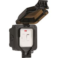 Show details for  IP66 13A switched fused spur unit with neon