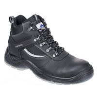 Show details for  Steelite Mustang Boots, S3, Leather, Black, Size 7