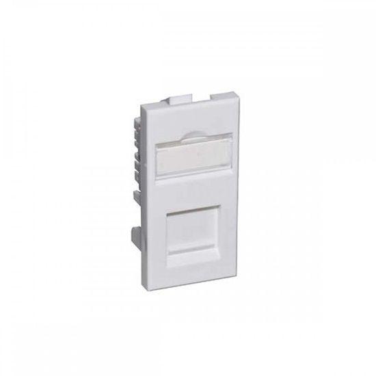 Picture of Module Cat5e UTP 50x25mm White