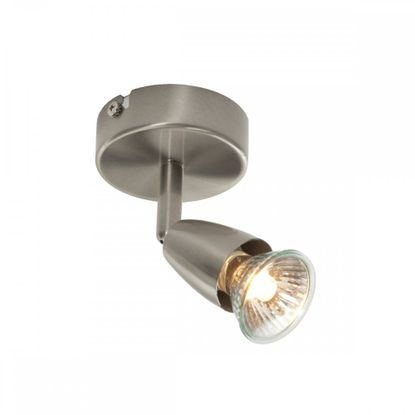 Picture of 50W Amalfi Satin Nickel Single Spotlight