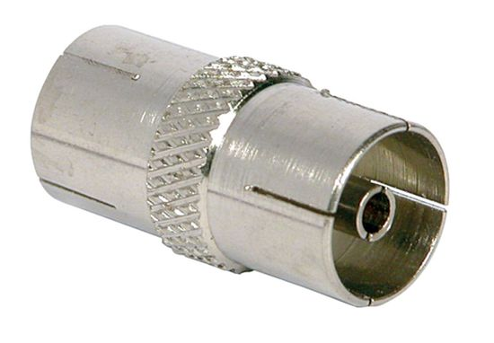 Picture of Nickel Plated Coax Coupler