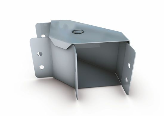 Picture of 150mm x 150mm Gusset Bend Top Lid