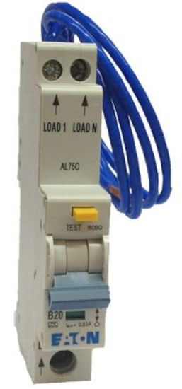 Picture of 6A SP 1 Module 10kA Type C 30mA RCBO