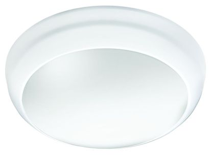 Picture of Ceiling Wall Light LED 14W 4000K 1100Lm White Body Opal Diffuser IP65 - EM3
