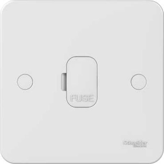 Picture of Lisse 13A 1 Gang Unswitched Fused Spur - White