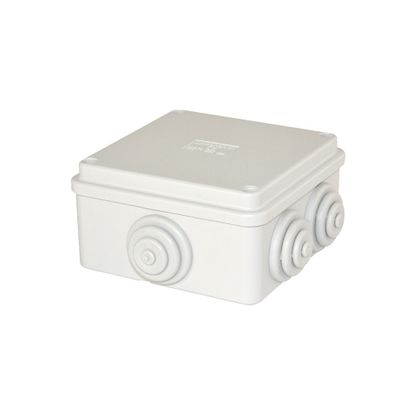 Picture of Adaptable Round Box IP65 100 x 100 x 50mm (DIA x D) with Stepped Glands