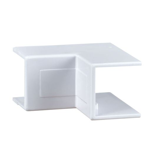 Picture of 38mm x 16mm Mini Trunking Internal Angle - White [Pack of 10]