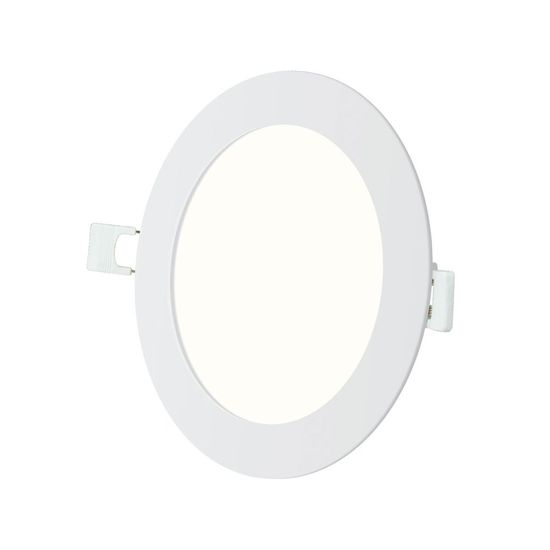 Picture of Panel Light Recessed Round 18Watt 3000K 1350Lm 210mm Cutout - White