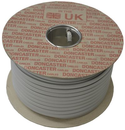 Picture of H6242Y 1.5mm² PVC Twin and Earth Cable Grey (100m Drum)