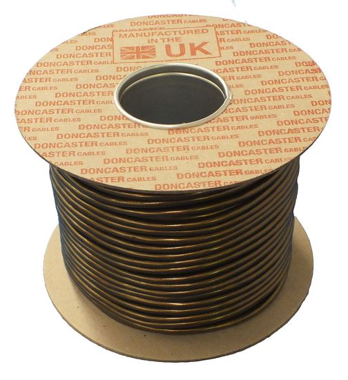 Picture of 2183Y Round Flexible Cable, 0.5mm², PVC, Gold (100m Drum)