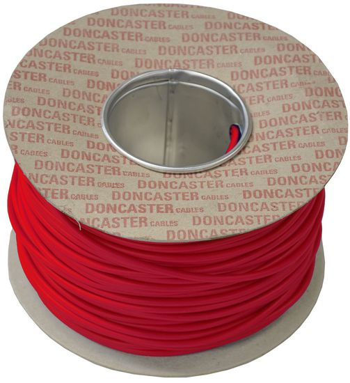 Picture of 0.5mm² Tri Rated Cable Red (100m Drum)