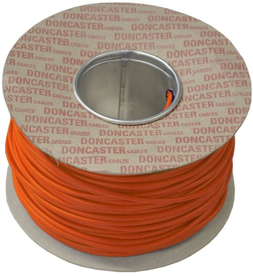 Picture of 2.5mm² Tri Rated Cable Orange (100m Drum)