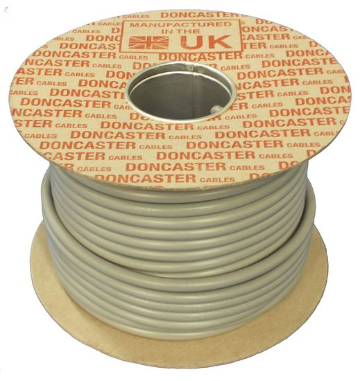Picture of 6181Y 6.0mm² Single Core PVC Insulated Brown / Grey (100m Drum)