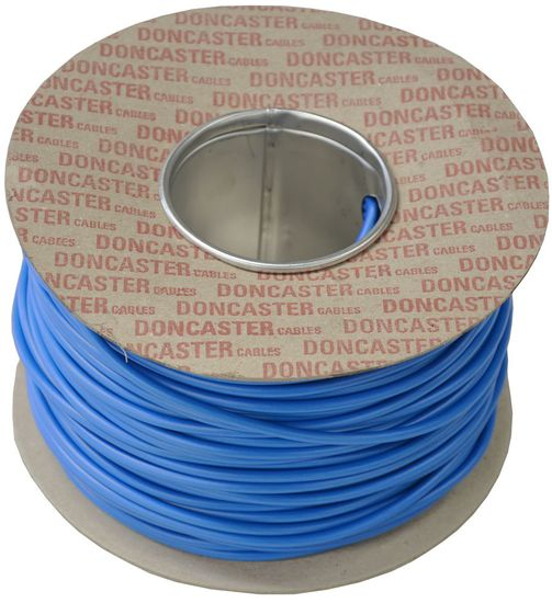Picture of Tri Rated Cable, 16mm², PVC, Blue (100m Drum)