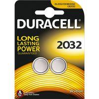Show details for  DL2032 3V Lithium Coin Batteries [Pack of 2]