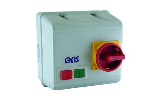 Picture of 5.5kW DOL Starter with Isolator, 415V, 3 Pole, Steel, IP55, Without Overload