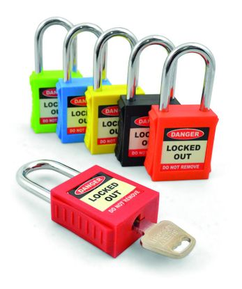 Picture of Safety Lockout Padlocks - Yellow (each)
