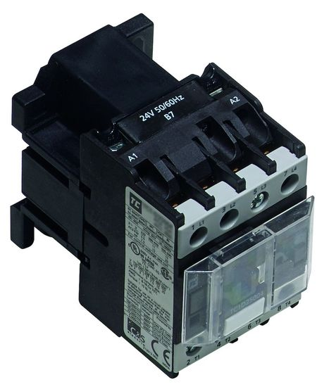 Picture of 11kW 25A AC3 (40A AC1) 3 Pole Contactor 230V AC 1N/O Aux