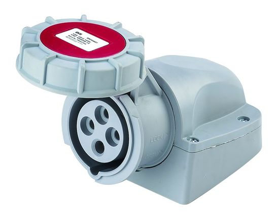 Picture of IP67 Surface Socket 32A 3P+E 415V