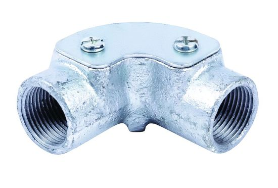 Picture of 25mm Galvanised Steel Inspection Elbow