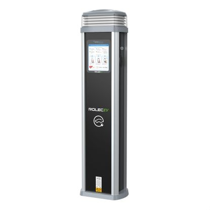 Picture of QUANTUM EV VENDELECTRIC - 2X 7.2KW (32A) TYPE 2 SOCKETS GPRS CHARGING PEDESTAL