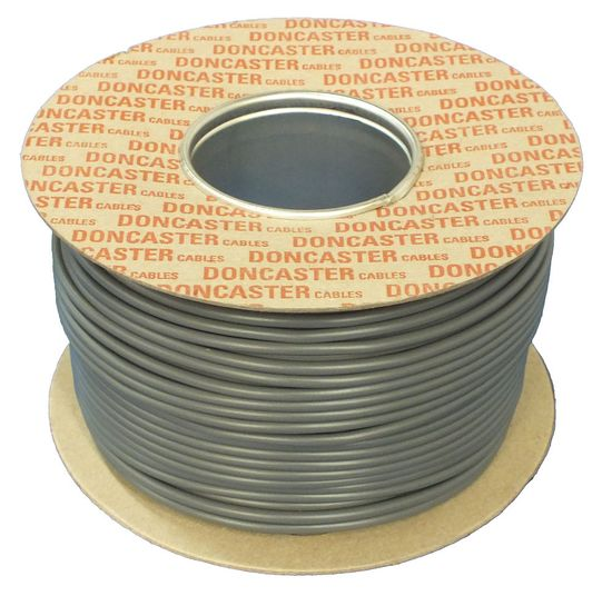 Picture of H6243Y 1.0mm² PVC 3 Core and Earth Cable Grey (25m Drum)
