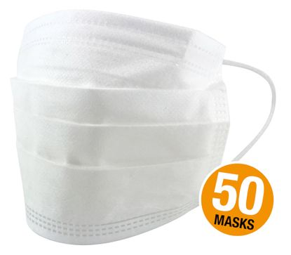 Picture of 3 Ply Disposable Face Mask [Pack of 50]