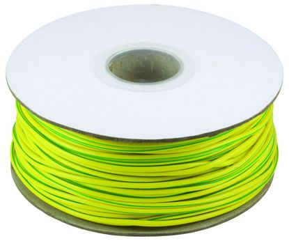 Picture of 3mm PVC Earth Sleeving - Green / Yellow - 100m