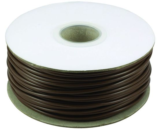 Picture of 4mm PVC Earth Sleeving - Brown - 100m