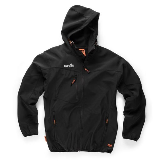 Picture of Worker Softshell Black Size L