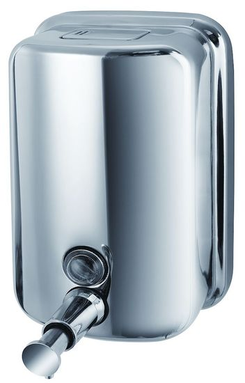 Picture of Manual Soap (Sanitiser) Dispenser - Polished Chrome