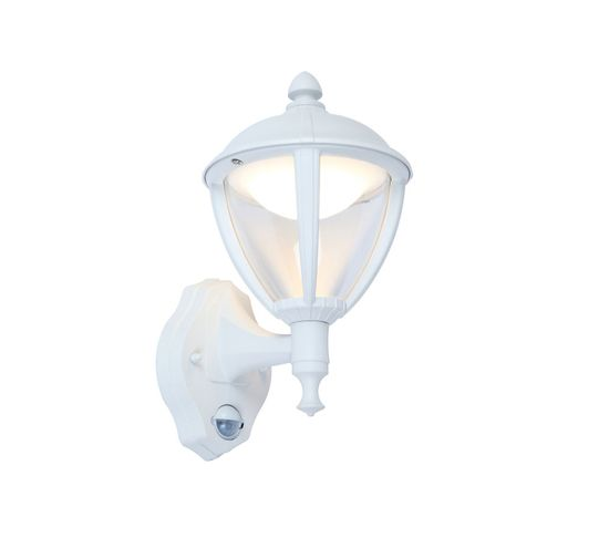Picture of Unite PIR Integrated LED Wall Light, White, 330lm, 3000K