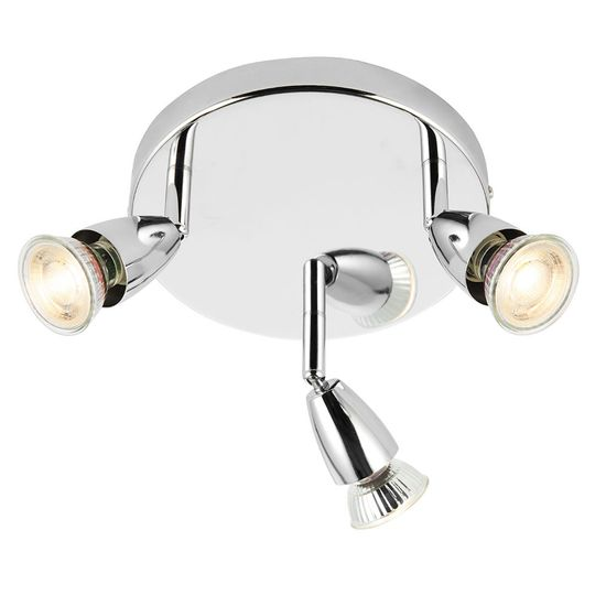 Picture of 50W Amalfi Chrome Plated Triple Spotlight