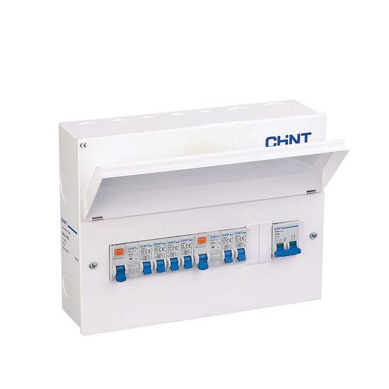 Picture of 100A 4+4 Loaded Consumer Unit