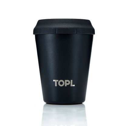 Picture of Stainless Steel Vacuum Insulated Cup with Smart Lid, 8oz, Jet Black