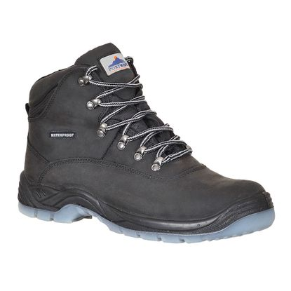Picture of Steelite All Weather Boots, S3, Nubuck Leather, Black, Size 10