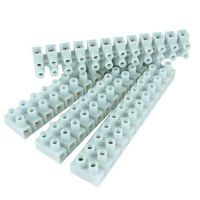 Show details for  Thorsman 5A White Terminal Connector - Steel Insert - 10 Strips