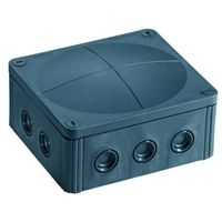 Show details for  COMBI 1210/5 IP66/IP67 Junction Box - Black