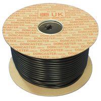 Show details for  RG59B/U Coaxial Cable, PVC, Black (100m Drum)